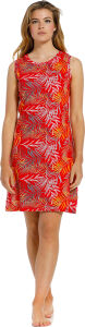 10211-102-1 - Pastunette mouwloos Nachthemd lengte 95 cm