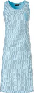 15211-355-1 Pastunette mouwloos Nachthemd lengte 95 cm