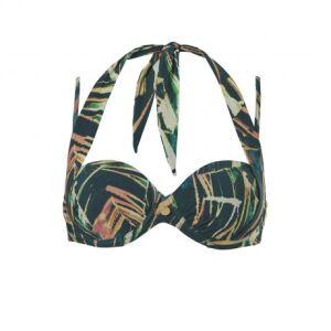 20110 - Tc Wow Beach Multiway Bikini met Omslag Slip palm leaves