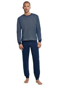 173660 - Schiesser heren pyjama met boordjes